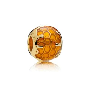 Charm miel doré Pandora Shine 59€