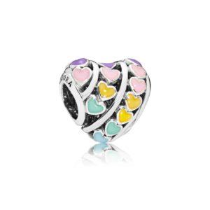Charm Cœurs multicolores : 35€ - 797019ENMX