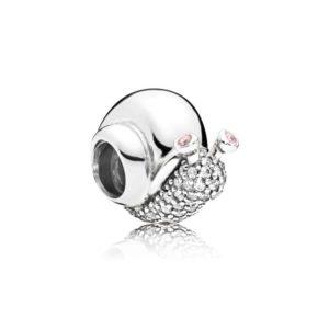 Charm Escargot Scintillant Pandora 49€ - 797063CZ