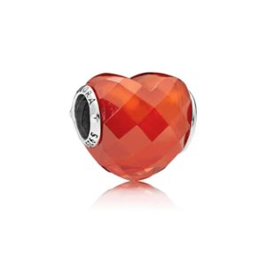 "Charm ""Shape of love"" Orange épicé 49€ - 796563OCZ"