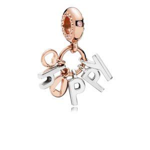 Charm pendentif Happy 59€