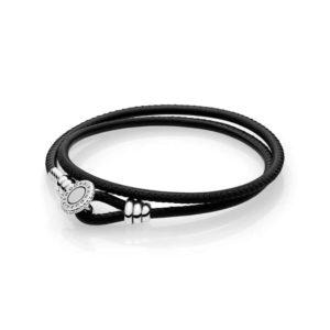 Bracelet moment double cordon noir 49€ - 597194CBK