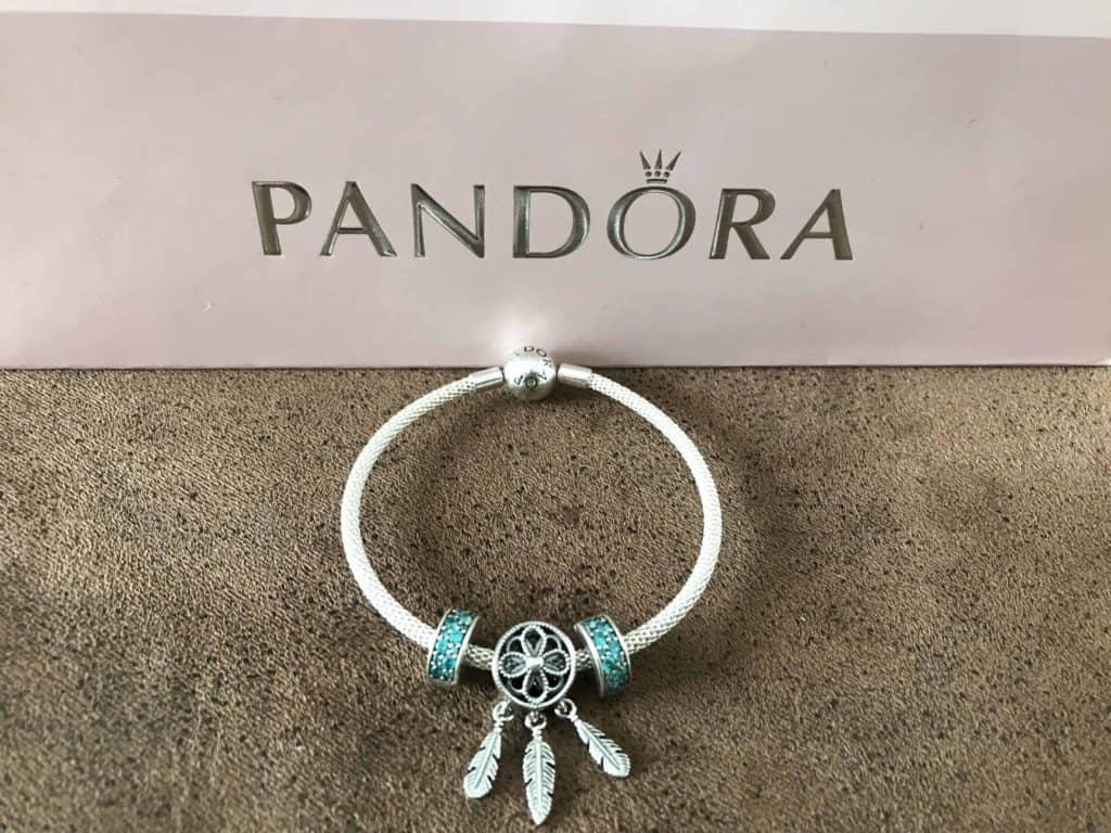 Mon Bracelet Charm Attrape rêve Pandora