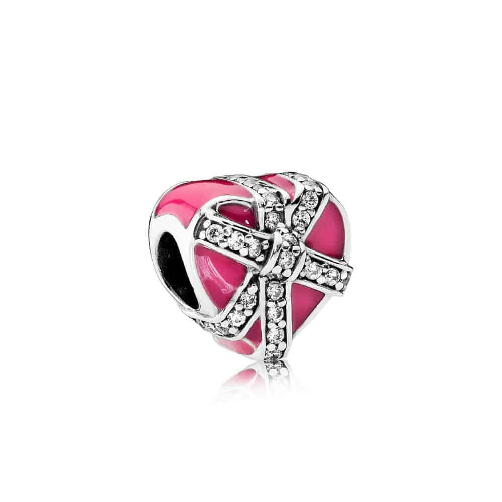 cadeau de l'amour Magenta Pandora 32,50€