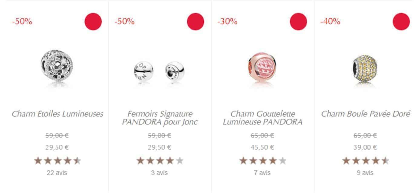 Charms Offre Vente privée Pandora