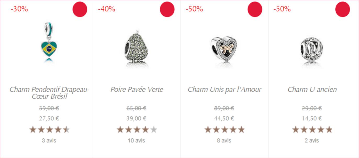 Charm Pandora Solde Ete 2018