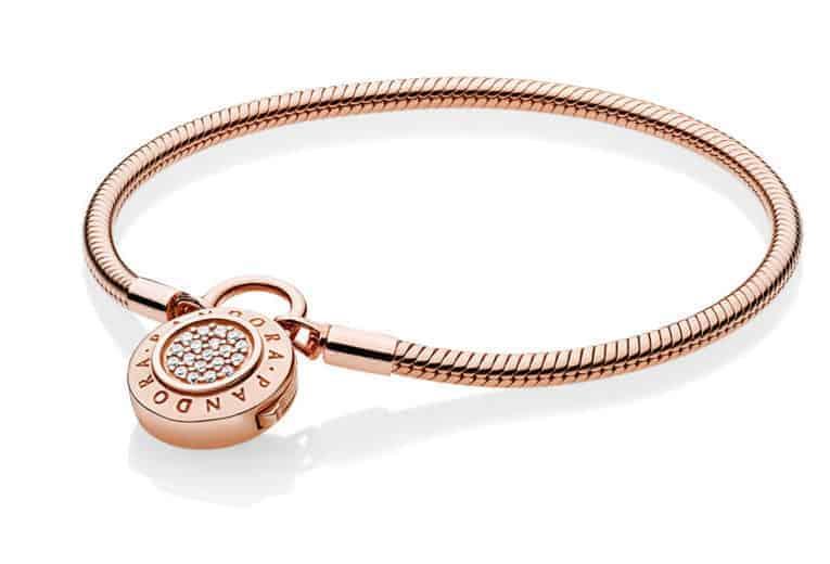 Bracelet Cadenas Signature PANDORA Rose 199€ - 587757CZ