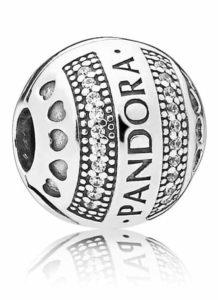 Clip Cœurs Signature PANDORA 49€ - 797433CZ