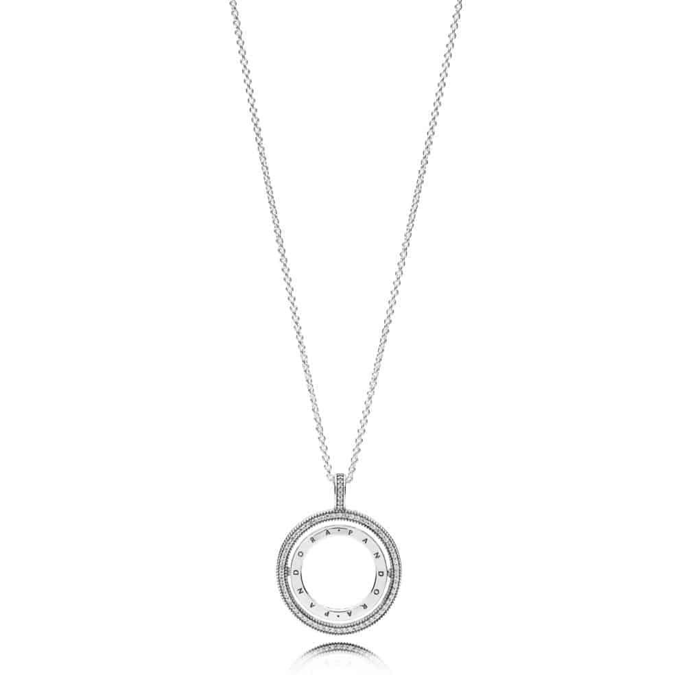 Collier Cœurs PANDORA Rotatifs 99,00 € - 397410CZ