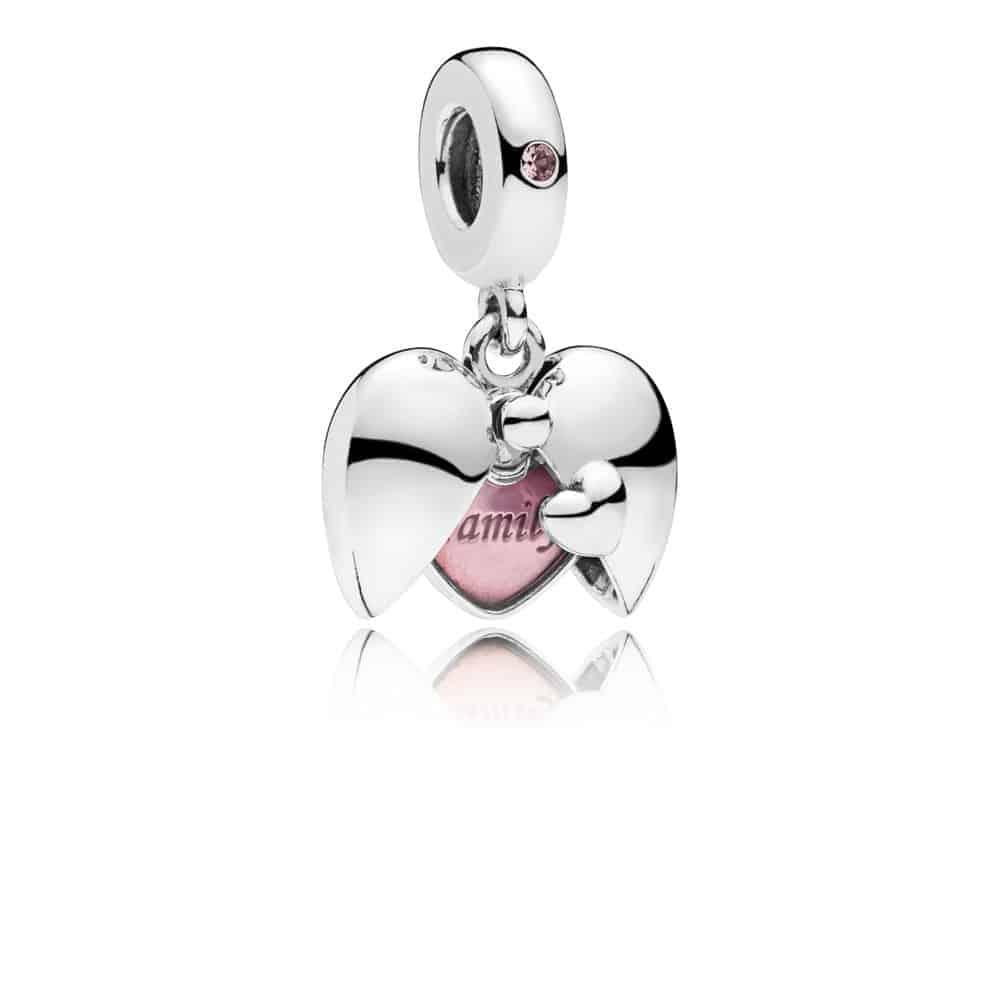 Médaillon familial Pandora : 49€ - 797615EN130