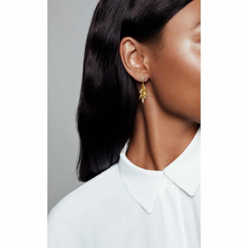 Les Grains Flottants Boucles d'oreilles pendantes Or Shine 149€ - 267674CZ