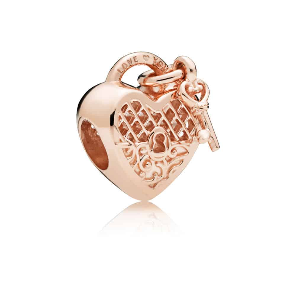 Charm Cadenas Love You Or Rose 49€