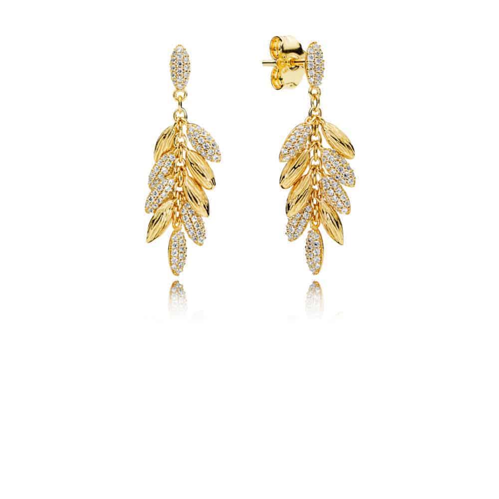 Grains Flottants Boucles d'oreilles pendantes Or Shine 149€ - 267674CZ