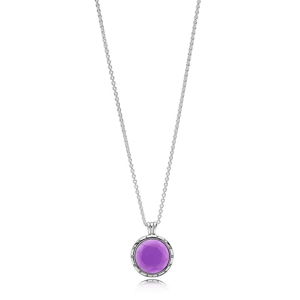 Médaillon Pandora Facetté Collier 99€ - 397710SAM