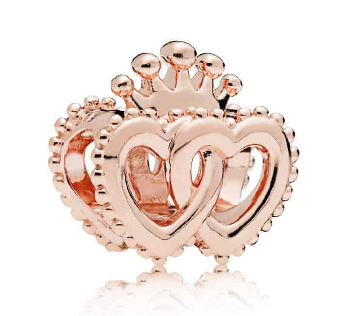 Union de cœurs Royaux Or Rose 49€ - 787670