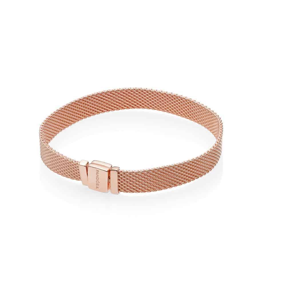 Bracelet Réflexion Pandora Or Rose 149€ - 587712