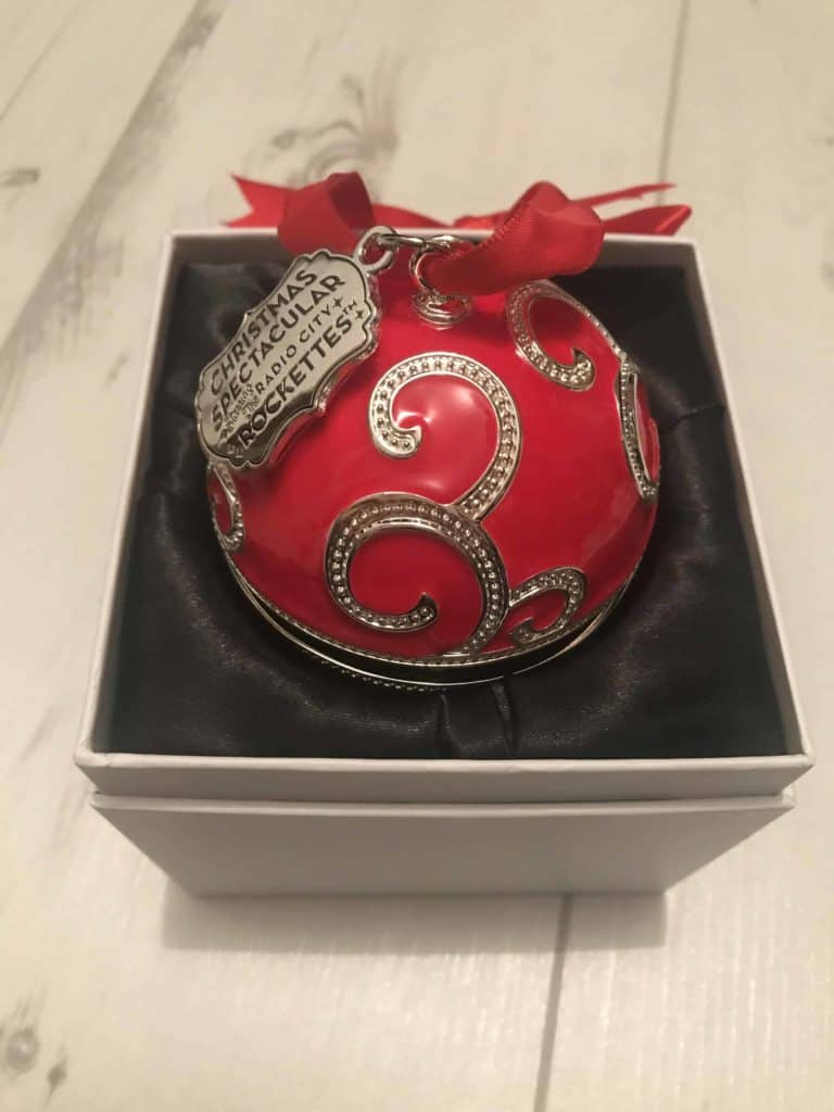 Ecrin Boule de Noël Arabesque Resplendissante