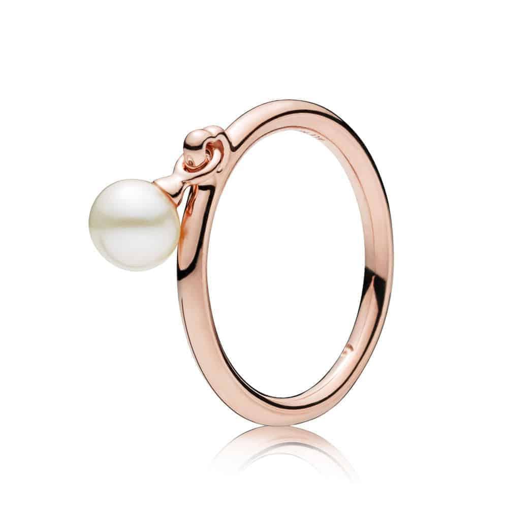 Bague Perle Contemporaine Pandora Rose 79€ - 187525P