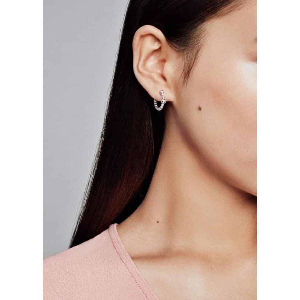 Boucles d'oreilles Fil de Perles en Argent 45€ - 297532