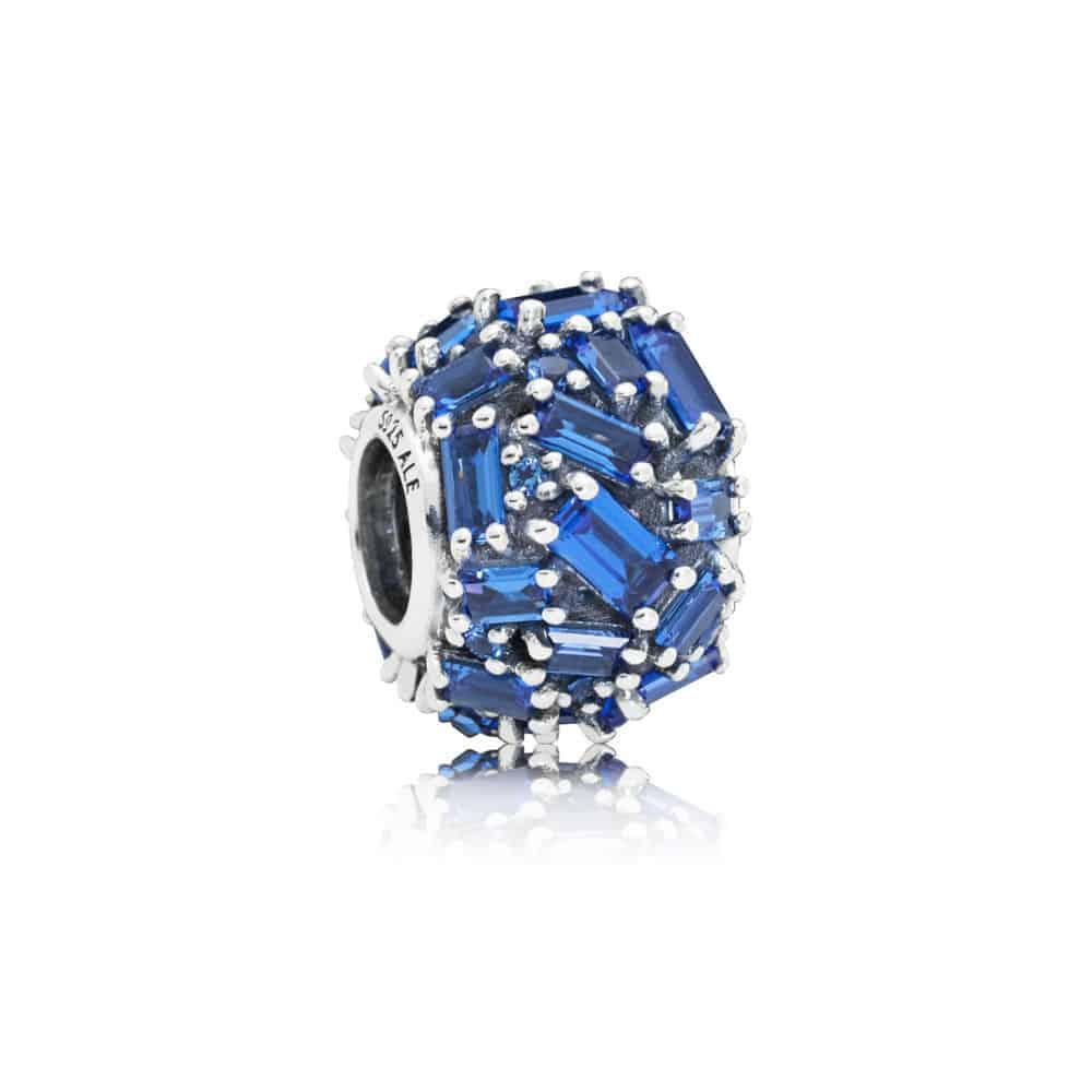 charms pandora bleu