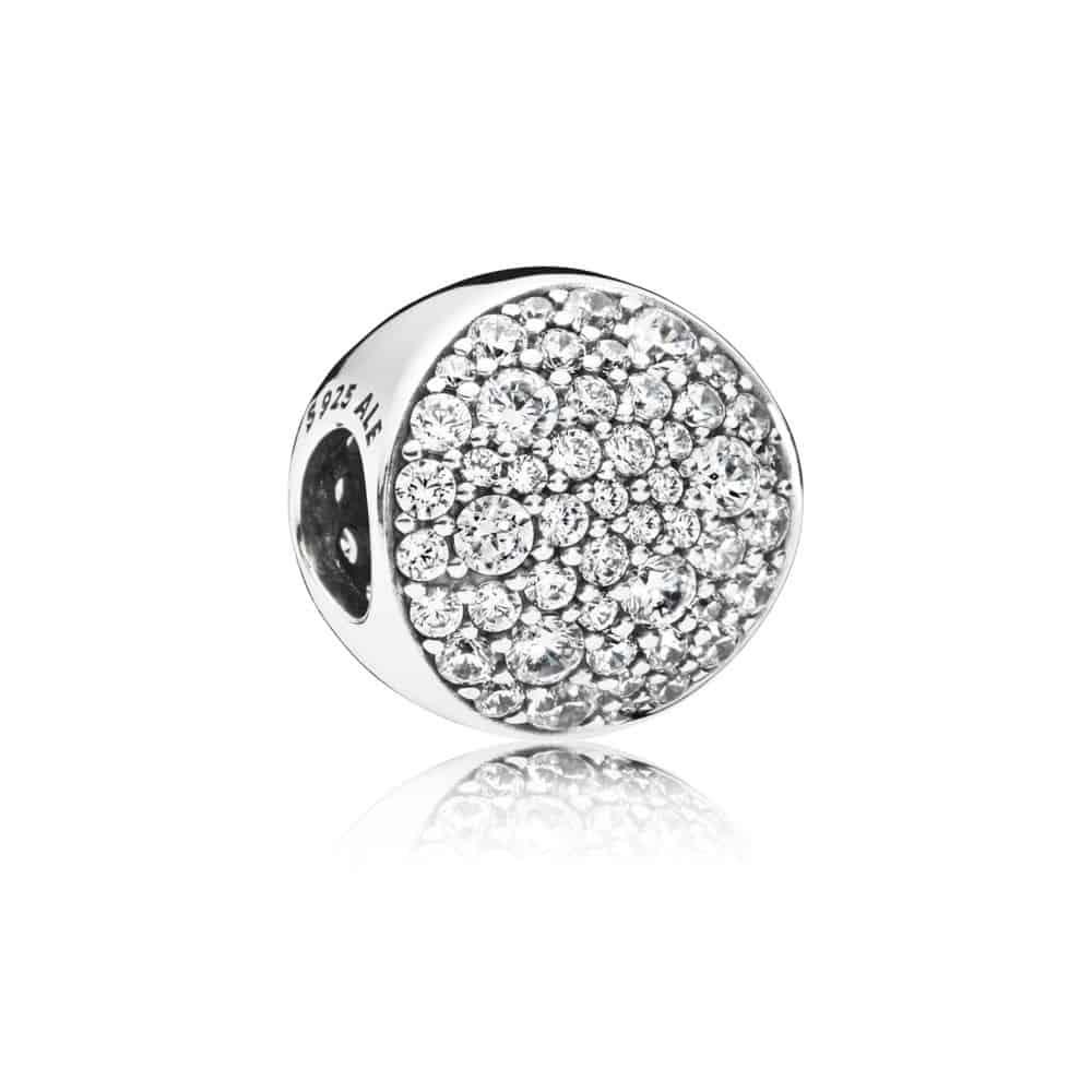 Charm Sphère Pavée en Argent 69€ - 797540CZ