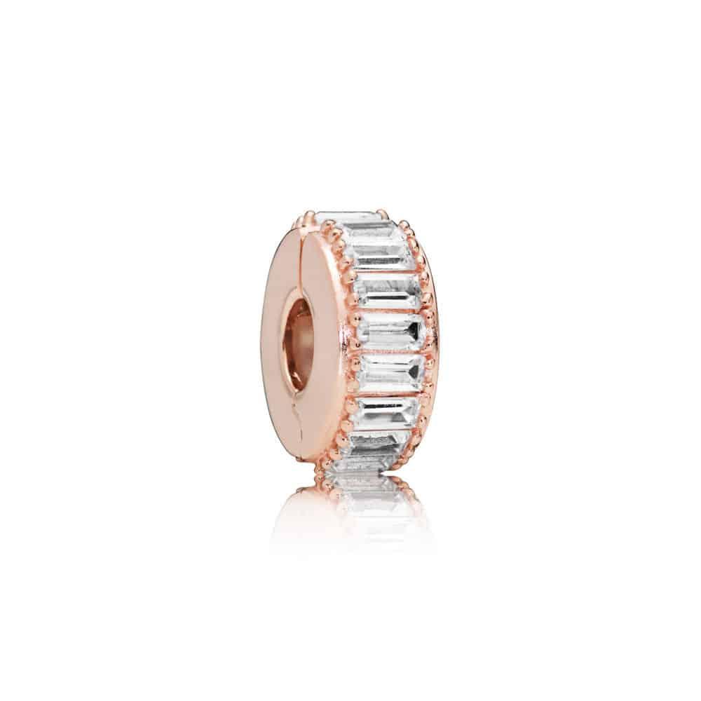 Clip Formation de Glace en Pandora Rose 49€ - 787559CZ