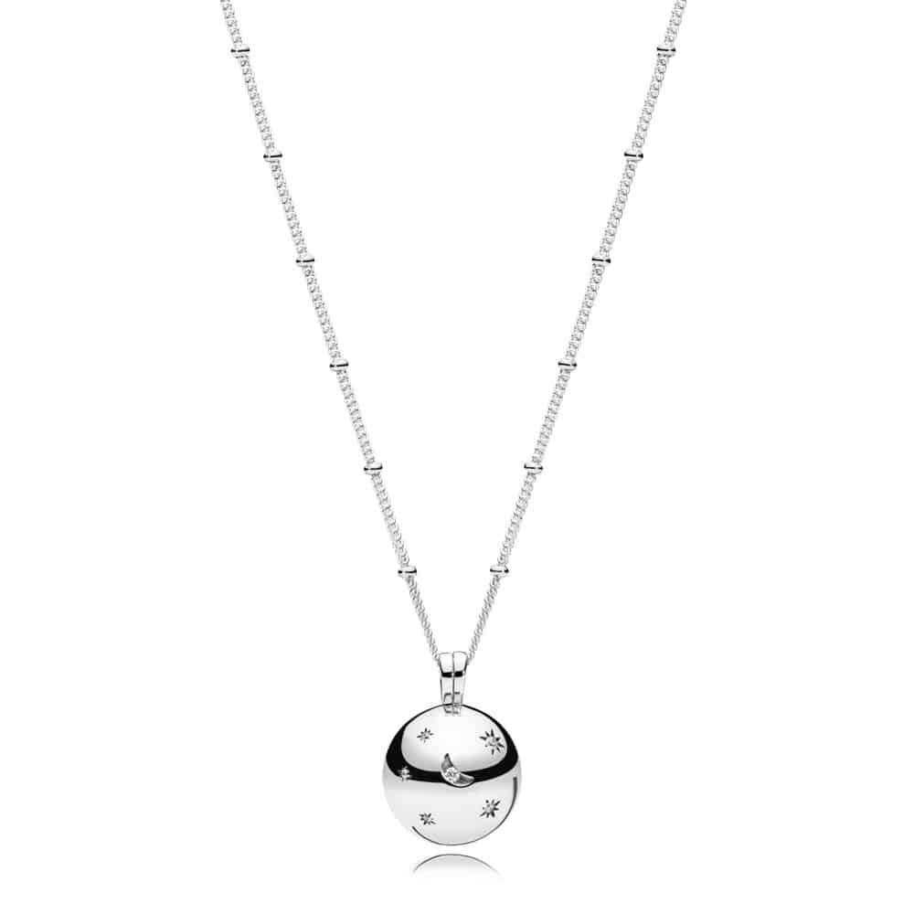 Collier Lune et Étoiles en Argent 99€ - 397537CZ