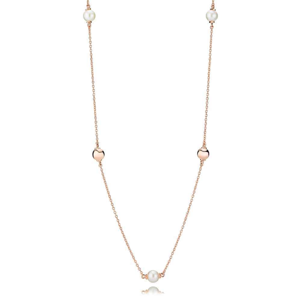 collier cercle perle de culture d'eau douce pandora