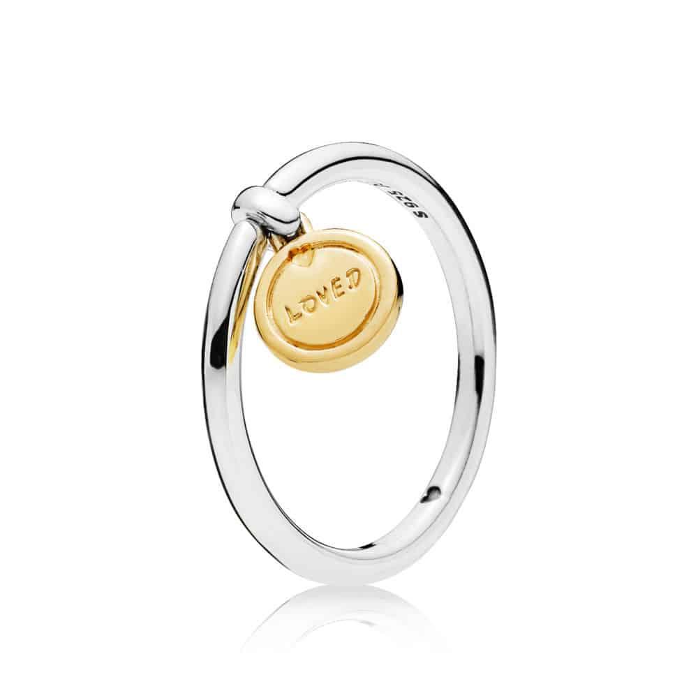 Bague Médaillon de l'Amour en PANDORA Shine 49,00 €