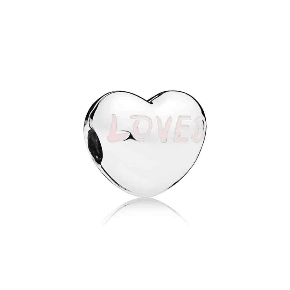 Clip cœur Aimée en Argent 39€