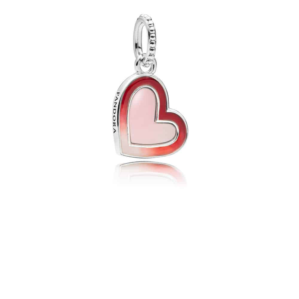 Charm pendant Cœur Stylisé en Argent 49€