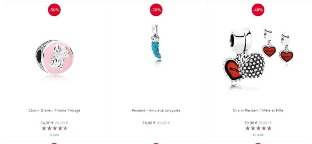 Soldes d'hiver Pandora 2019