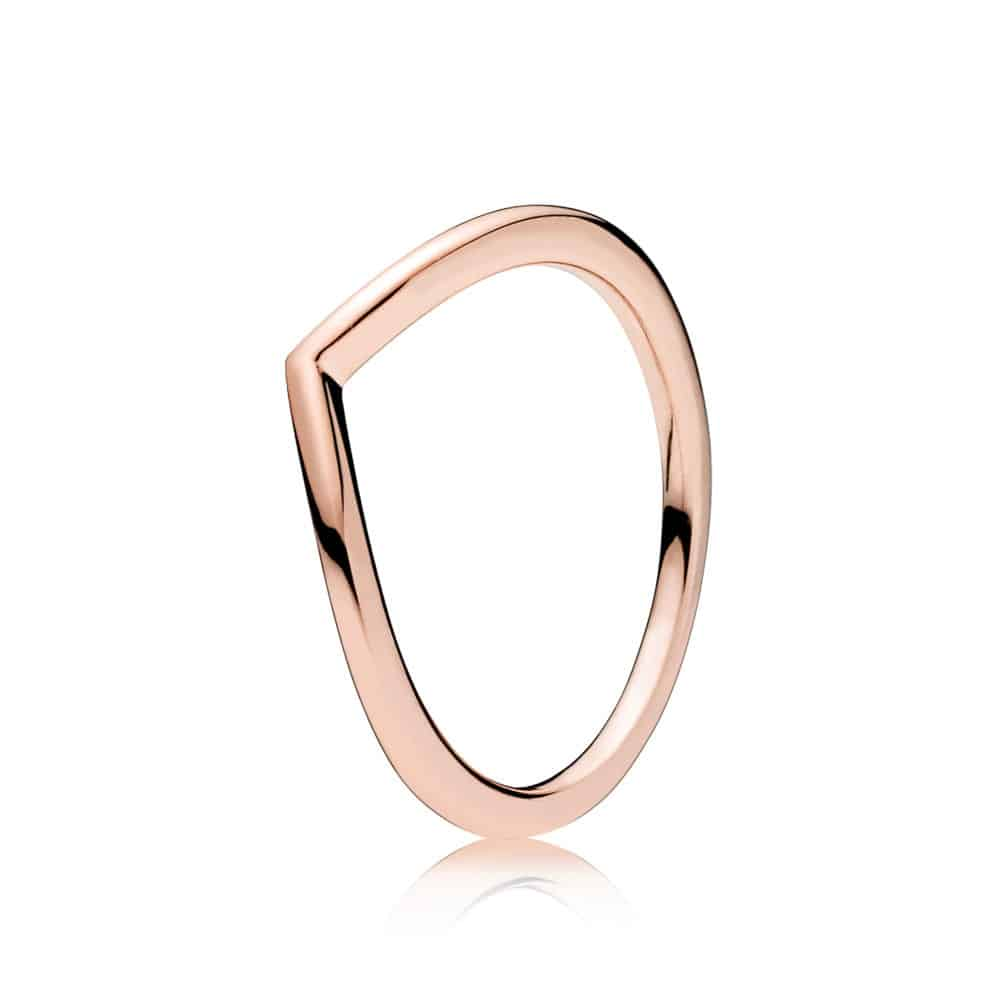 Or Rose Bague Vœu Brillant 39,00 € - 186314