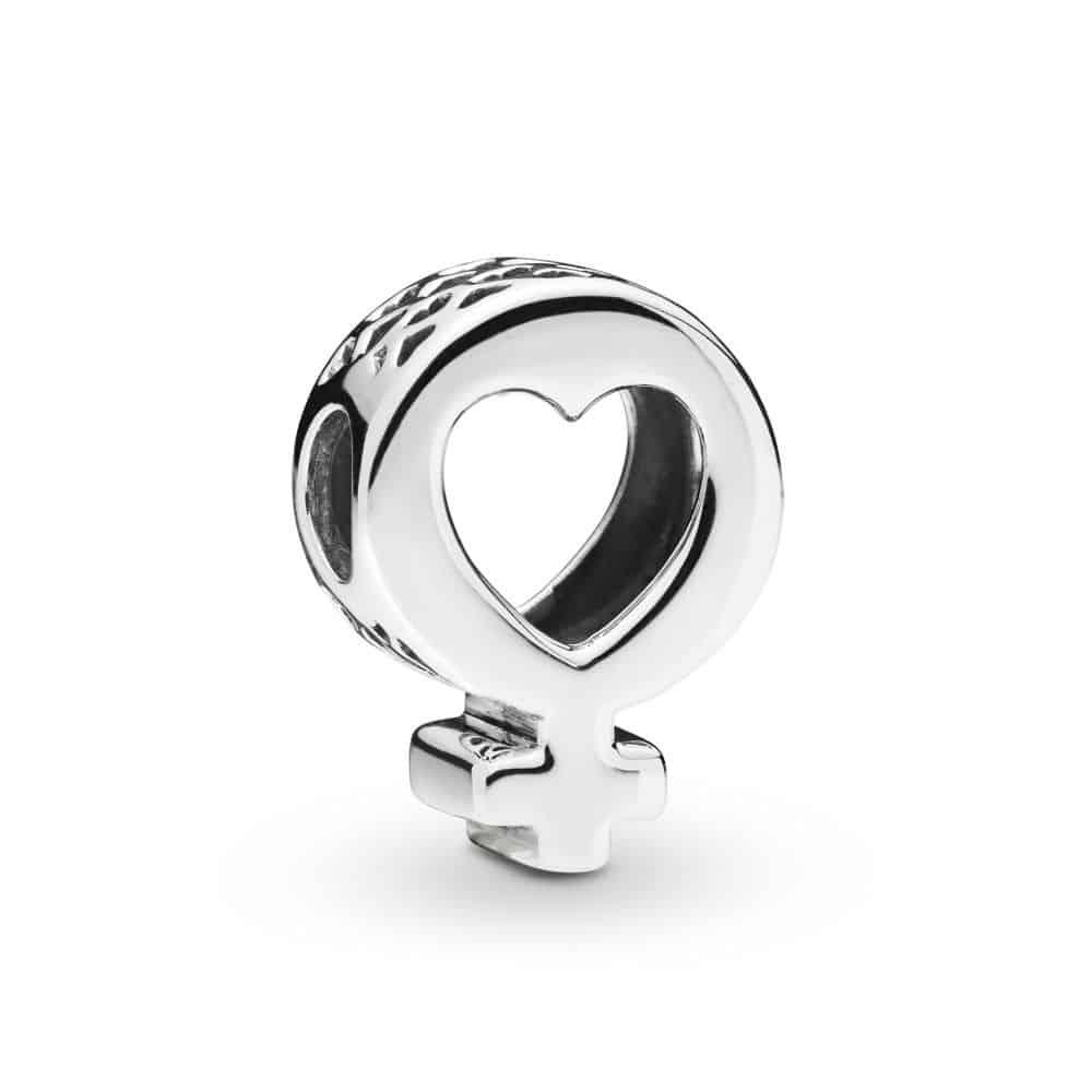 Charm Symbole Féminin en Argent 29€