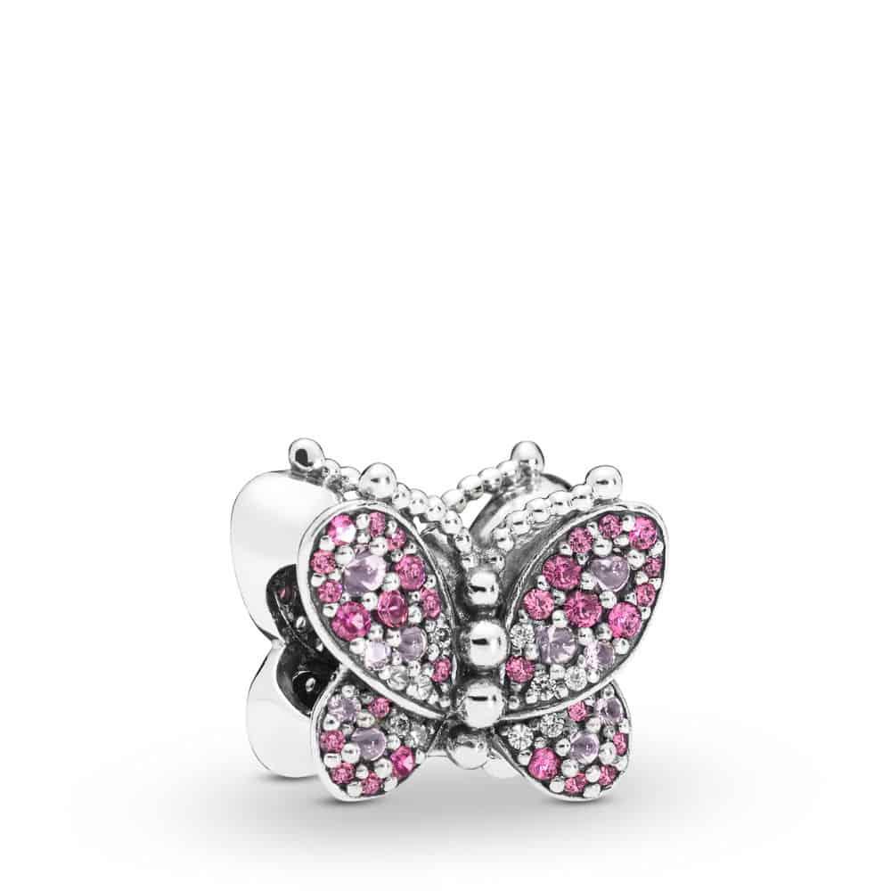 Charm Papillon Rose en Argent 69€ - 797882NCCMX