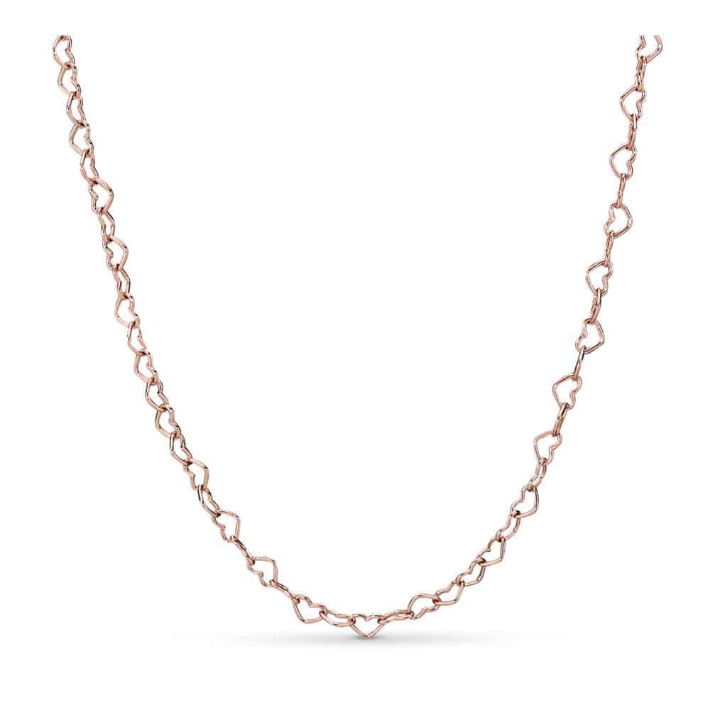 Collier Union de Cœurs en Pandora Rose 129€ - 387961