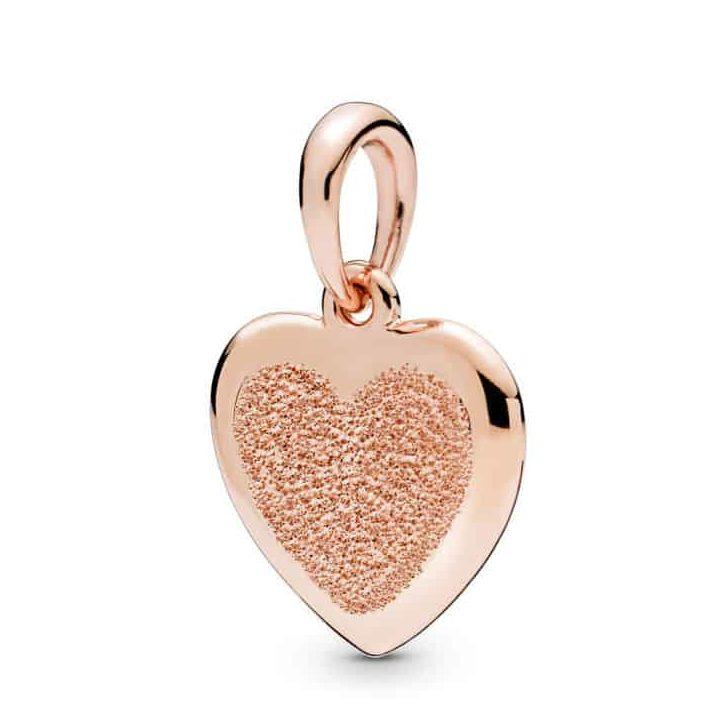 Pendentif Cœur en PANDORA Rose 59€