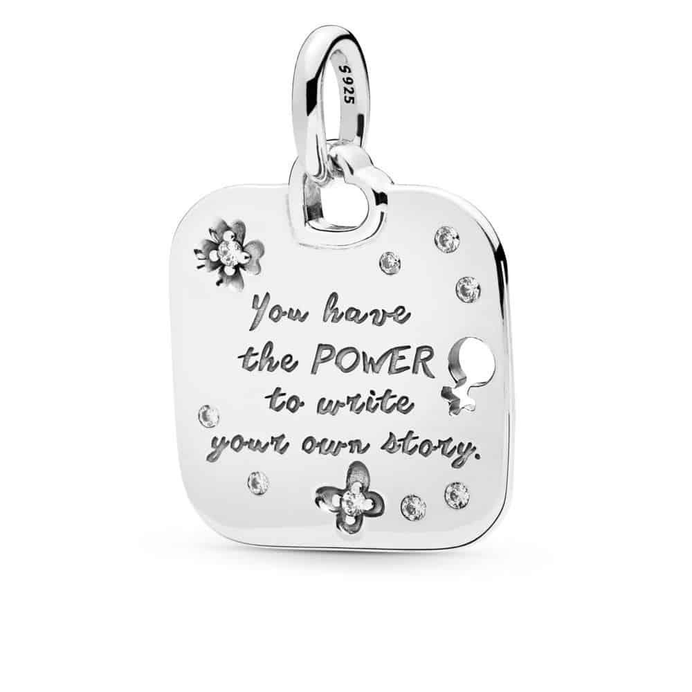 Pendentif Devise Girl Power en Argent 69,00 €