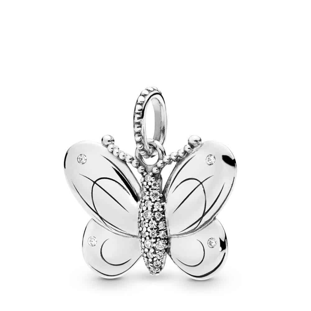 Pendentif Papillon en Argent 69€ - 397933CZ