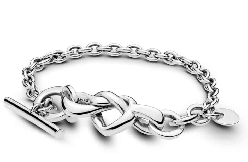 Bracelet Barre en T Cœur Noué 99,00 € - 598100