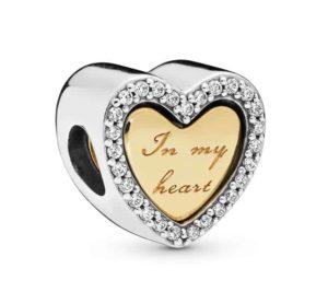 Charm Du Fond de mon Cœur en Pandora Shine 69€