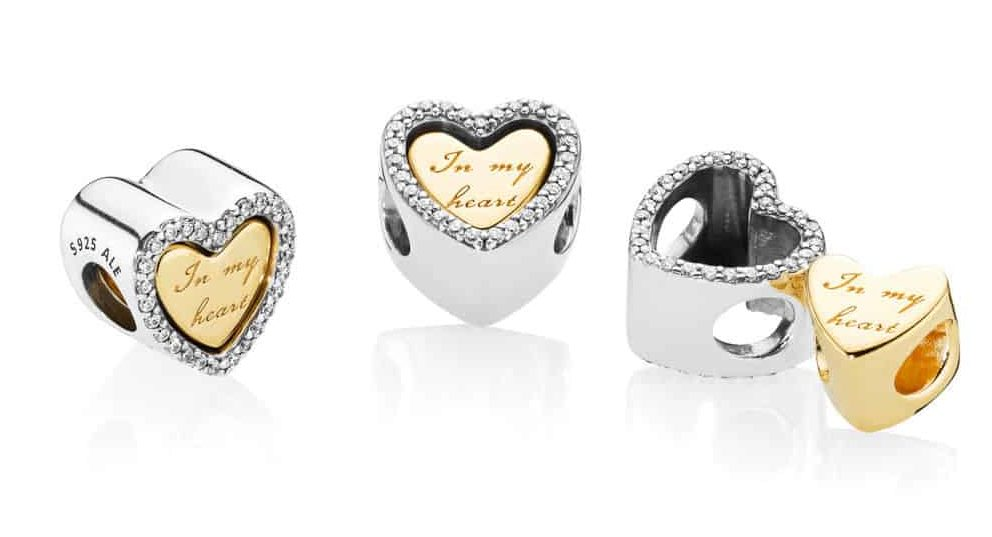 Détails du charm Du Fond de mon Cœur en Pandora Shine 69€ - 768760C01