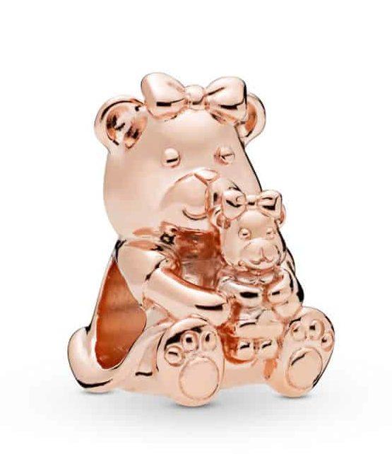 Charm Ourse Dora en Pandora Rose 45€ - 788007