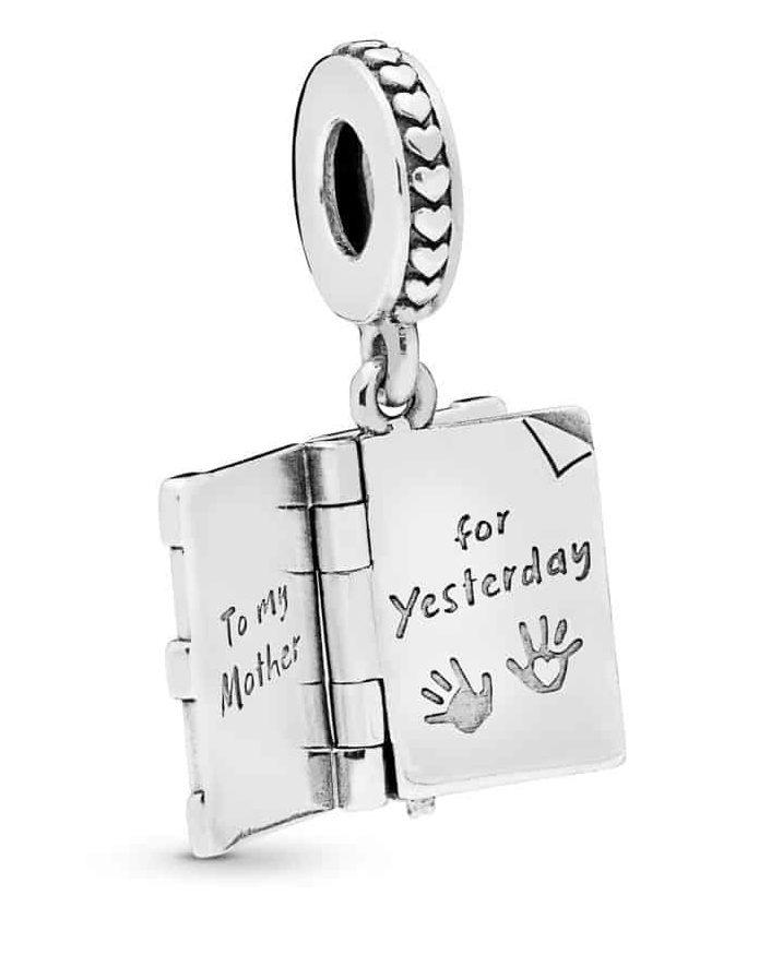 Charm Pendant Livre de Famille en Argent 49€ - 798105