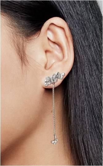 boucle d oreille femme pendantes pandora
