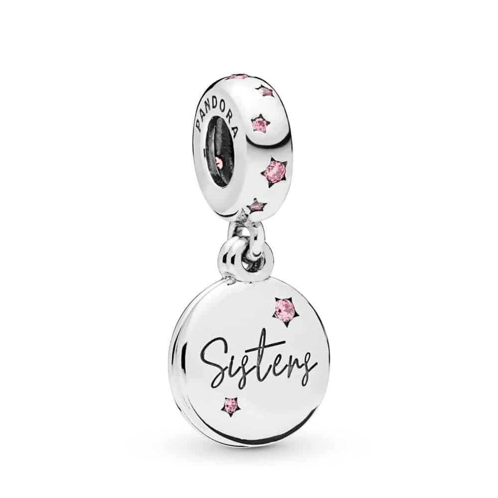 Charm pendant Sœurs pour la Vie en Argent 49€ - 798012FPC