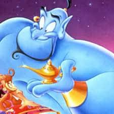 Aladdin, le Génie