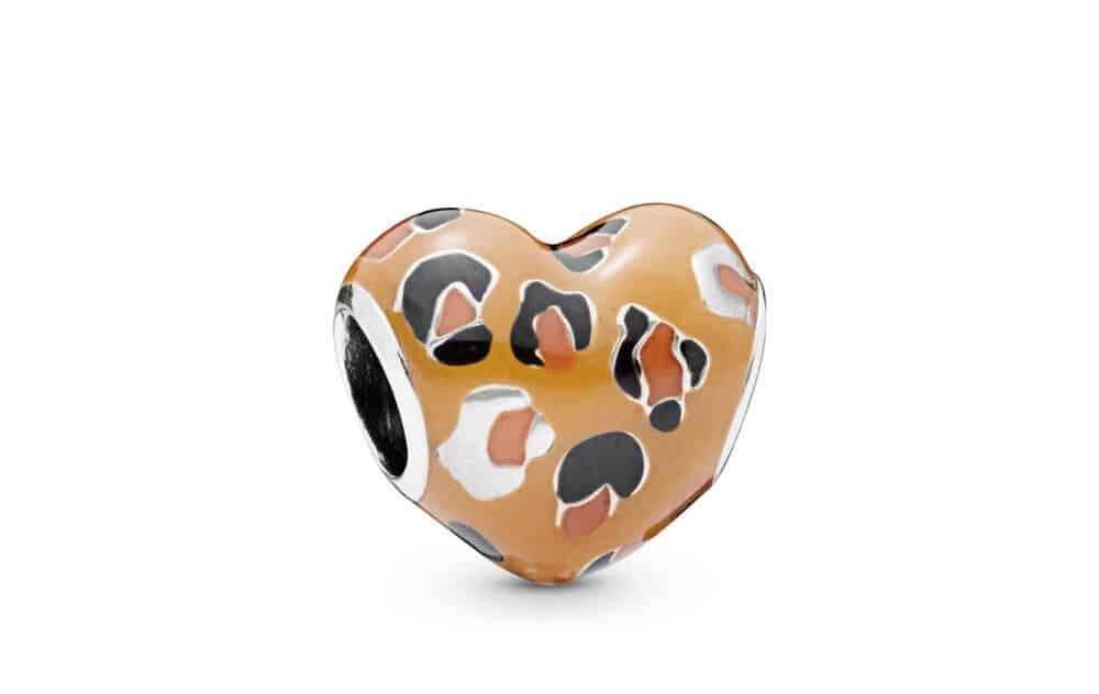 Charm-cœur léopard en Argent 45€ - 798065ENMX