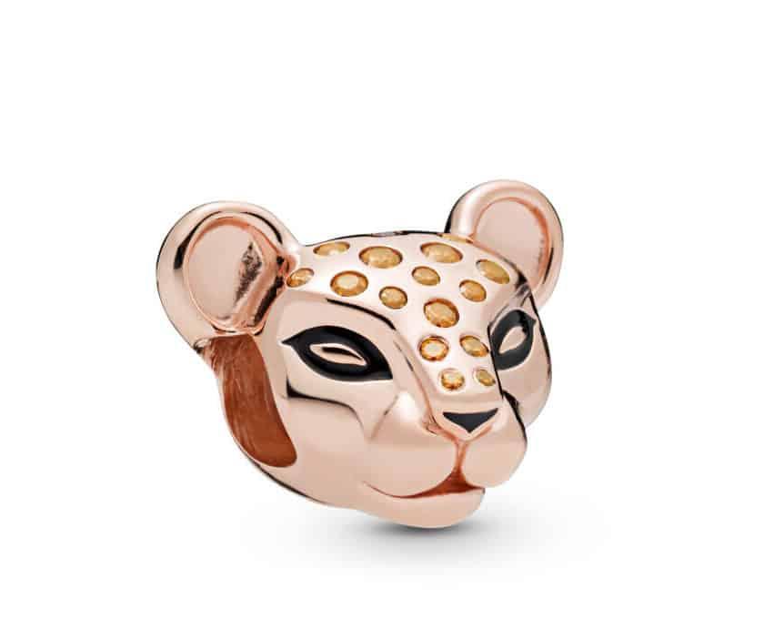 Charm Princesse Lionne Scintillante en Pandora Rose 59€