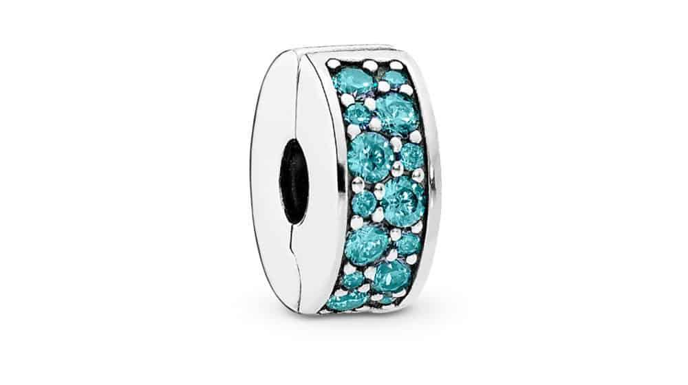 Clip Élégance Brillante Bleu turquoise 39,00 € - 791817MCZ